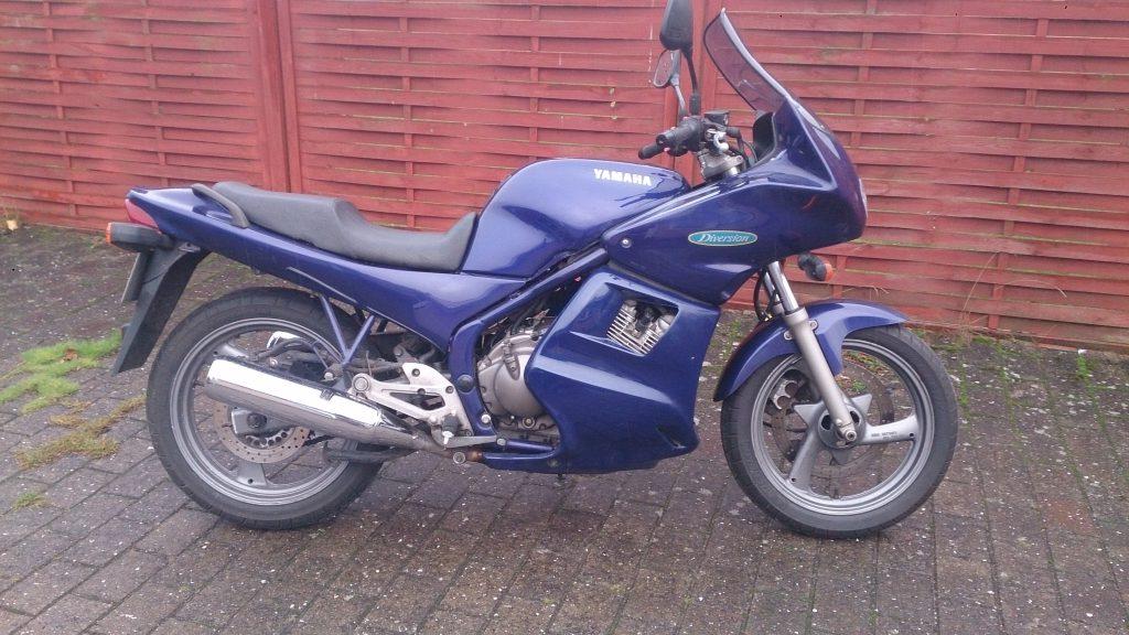 Yamaha Xj600 Diversion Årgang 1993